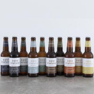 Proeverij van 12 bieren